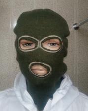 маска вязанная