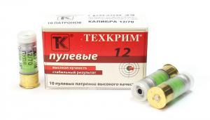 патрон Техкрим, пуля к. 12 мм., Гризли