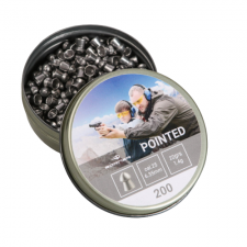 пуля пневматическая Borner, к. 6,35 мм., Pointed-1.04 гр. (200 шт.)