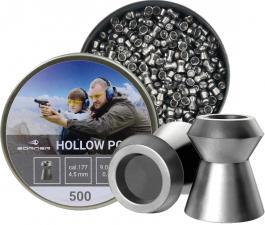 пуля пневматическая Borner, к. 4,5 мм., Hollow Point-0.58 гр. (500 шт.)