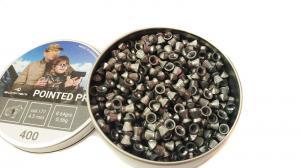 пуля пневматическая Borner, к. 4,5 мм., Pointed Pro-0.56 гр. (400 шт.)