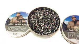пуля пневматическая Borner, к. 4,5 мм., Match Pro-0.46 гр. (500 шт.)