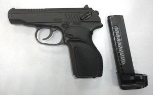 Новое пистолет травматический П-М17Т, к. 9 мм (рукоятка Дозор)