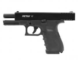 Пистолет охолощённый 17 (GLOK) чёрный к.9мм Р.А.К.