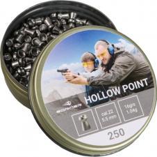 пуля пневматическая Borner, к. 5,5 мм., Hollow Point-1.15 гр. (250 шт.)