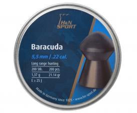H&N Baracuda 5.5 мм (200 шт, 1.37 г)