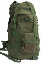 Рюкзак рейдовый чёрный/олива (12-50)